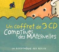 Rémi Guichard - Comptines des maternelles. 3 CD audio