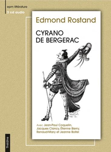 Cyrano de Bergerac  3 CD audio
