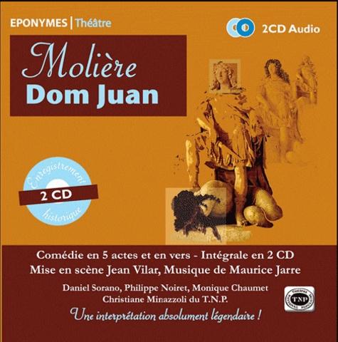 Molière - Dom Juan. 2 CD audio