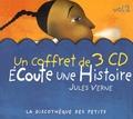 Jules Verne - Ecoute une histoire - Volume 2. 3 CD audio