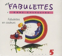 Anne Sylvestre - Fabulettes en couleurs - CD audio.