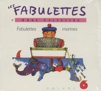 Anne Sylvestre - Fabulettes marines. 1 CD audio