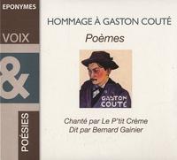 Gaston Couté - Hommage à Gaston Couté. 2 CD audio