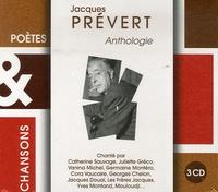 Jacques Prévert - Jacques Prévert - Anthologie. 3 CD audio