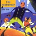 Jules Verne - L'île mystérieuse. 1 CD audio