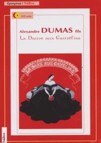 Alexandre (fils) Dumas - La Dame aux camélias. 2 CD audio