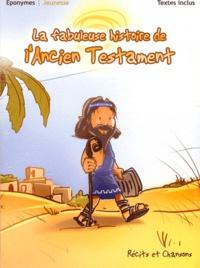 Patrick Jaymes et Pierre-Michel Gambarelli - La fabuleuse histoire de l'Ancien Testament - CD audio.