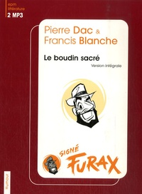 Pierre Dac et Francis Blanche - Le boudin sacré. 2 CD audio MP3