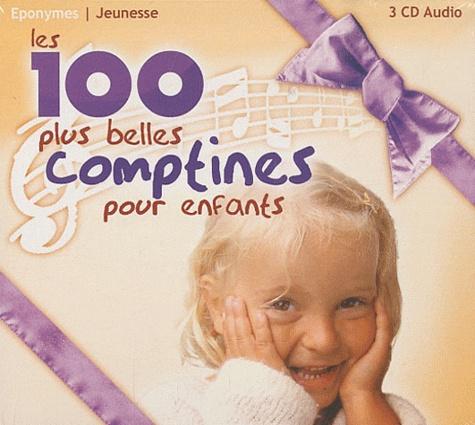 Paul Glaeser et Patrick Jaymes - Les 100 plus belles comptines pour enfants - 3 CD Audio.