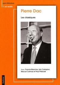 Pierre Dac - Les classiques - CD audio.