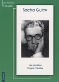 Sacha Guitry - Les pensées ; Pages choisies. 1 CD audio