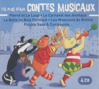 Eponymes - Les plus beaux contes musicaux. 4 CD audio