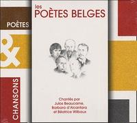 Julos Beaucarne et Barbara d' Alcantara - Les poètes belges. 1 CD audio