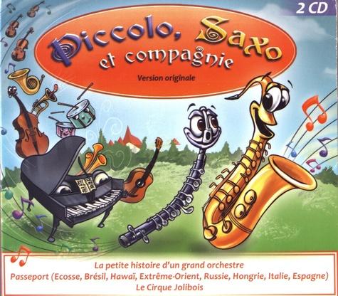 François Périer et André Popp - Piccolo, Saxo et compagnie. 2 CD audio