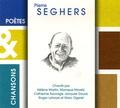 Hélène Martin et Monique Morelli - Pierre Seghers. 1 CD audio