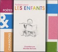 Michèle Bernard - Poésies pour les enfants - CD audio.