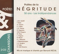 Bernard Ascal - Poètes de la negritude - 2 CD Audio.