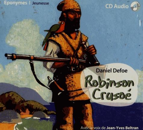 Robinson Crusoé  avec 1 CD audio