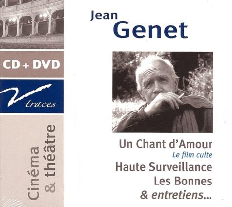 Jean Genet - Un chant d'Amour, Haute surveillance, Les Bonnes, et entretiens... - CD audio. 1 DVD