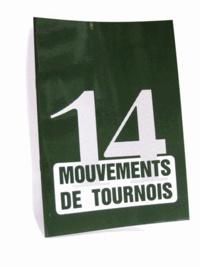 EPS Le Bridgeur - 14 mouvements de tournoi.