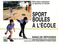 Sport boules à l'école- Education physique et sportive à l'école -  EPS | Showmesound.org