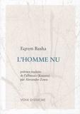 Eqrem Basha - L'homme nu - Edition bilingue français-albanais.