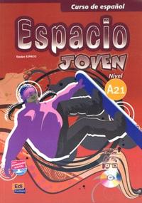 Feriasdhiver.fr Curso de espanol, Espacio Joven - Libro del alumno, nivel A 2.1 Image