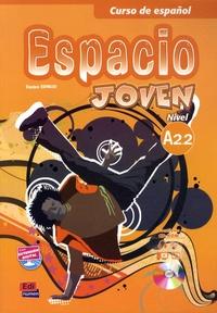Goodtastepolice.fr Curso de espanol Espacio Joven - Libro del alumno Nivel A 2.2 Image