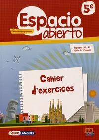 Birrascarampola.it Espagnol 5e LV2 A1 Espacio abierto - Cahier d'exercices Image