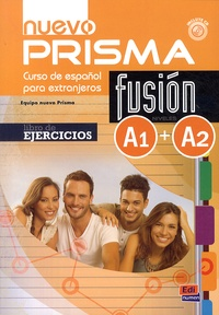 Equipo Nuevo Prisma - Nuevo Prisma Fusion A1-A2 - Libro de ejercicios. 1 CD audio MP3