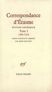 Erasme - Correspondance.