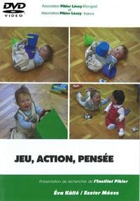 Eva Kallo et Eszter Mozes - Jeu, action, pensée. 1 DVD