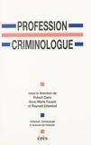 Erès - Profession criminologue - Spécialisation ou professionnalisation ?.