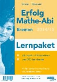 Erfolg im Mathe-Abi 2014 Lernpaket Bremen - Übungsbuch für das Basiswissen in Bremen mit vielen hilfreichen Tipps und ausführlichen Lösungen sowie die Original Mathe-Mind-Map und Lernkarten für die optimale Vorbereitung auf das Mathe-Abitur.