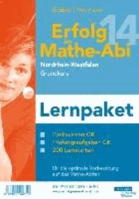Erfolg im Mathe-Abi 2014 Lernpaket NRW Grundkurs - Übungsbücher für das Basiswissen und Prüfungsaufgaben in NRW mit vielen hilfreichen Tipps und ausführlichen Lösungen sowie Lernkarten für die optimale Vorbereitung auf das Mathe-Abitur.