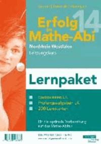Erfolg im Mathe-Abi 2014 Lernpaket NRW Leistungskurs - Übungsbücher für das Basiswissen und Prüfungsaufgaben in NRW mit vielen hilfreichen Tipps und ausführlichen Lösungen sowie Lernkarten für die optimale Vorbereitung auf das Mathe-Abitur.