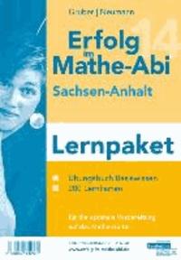 Erfolg im Mathe-Abi 2014 Lernpaket Sachsen-Anhalt - Übungsbuch für das Basiswissen in Sachsen-Anhalt mit vielen hilfreichen Tipps und ausführlichen Lösungen sowie der Original Mathe-Mind-Map und Lernkarten für die optimale Vorbereitung auf das Mathe-Ab.
