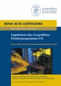 Ergebnisse des Leopoldina-Förderprogramms VII.