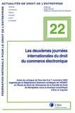 Eric-A Caprioli et Christiane Tinard - Les deuxièmes journées internationales du droit du commerce électronique - Actes de colloque de Nice des 6 et 7 novembre 2003.