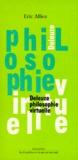 Eric Alliez - Philosophie virtuelle - Deleuze.