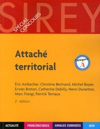 Eric Ambacher et Christine Bertrand - Attaché territorial - Catégorie A.