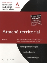Eric Ambacher et Michel Boyer - Attaché territorial - Catégorie A.