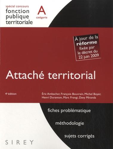 f4a32e4962e Attaché territorial - Catégorie A. Eric Ambacher - Decitre - Livre -  9782247089994