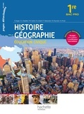 Eric Aujas et Gérard Chatelet - Histoire Géographie Education Civique 1re Bac Pro.