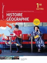 Histoire-Géographie Education Civique 1re professionnelle Bac Pro - Eric Aujas | Showmesound.org