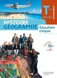 Eric Aujas et Michel Casta - Histoire Géographie Education civique Term Bac Pro - Elève Petit Format.