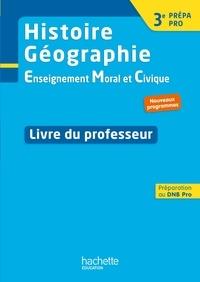 Coachingcorona.ch Histoire Géographie EMC 3e Prépa Pro - Livre du professeur Image