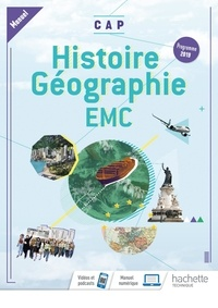 Eric Aujas et Nadine Mansard - Histoire-Géographie EMC CAP - Manuel.