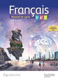 Galabria.be Français 5e 4e 3e Cycle 4 - Manuel de cycle Image
