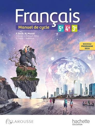 Francais 5e 4e 3e Cycle 4 Manuel De Cycle